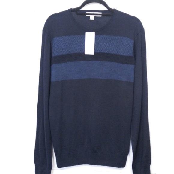 Calvin Klein Other - NWT Calvin Klein Sweater Sz L Crew Pullover Navy